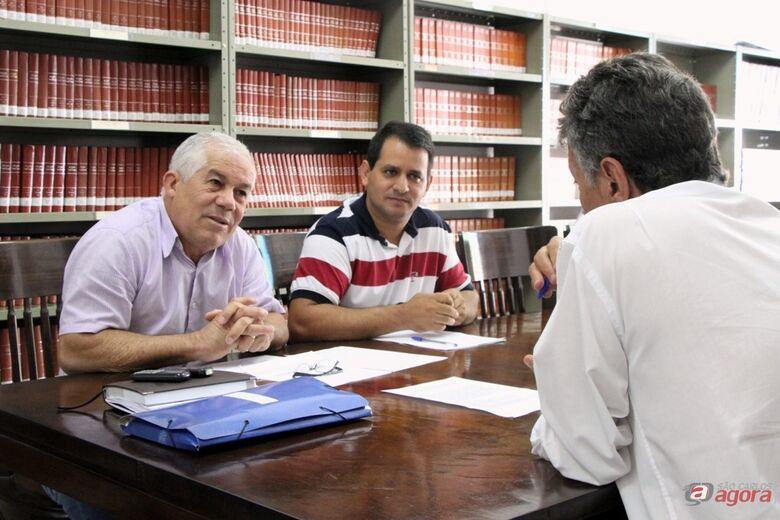 Primeira reunião da CPI ocorreu nesta quinta-feira (7). (Assessoria de Imprensa CMSC) -