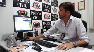 Equipe do delegado Gilberto de Aquino procura integrantes da quadrilha. -