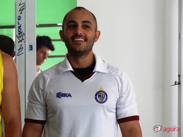 """""""Estamos no caminho certo e o time está evoluindo a cada apresentação"""", garantiu o técnico são-carlense Marcos Escrivani -"""