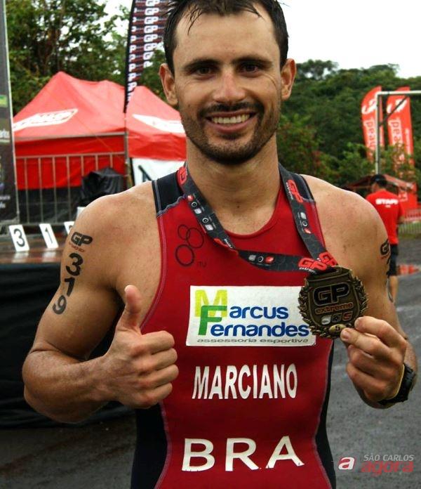 Em Florianópolis, Marciano busca a superação no Ironman Brasil Divulgação -