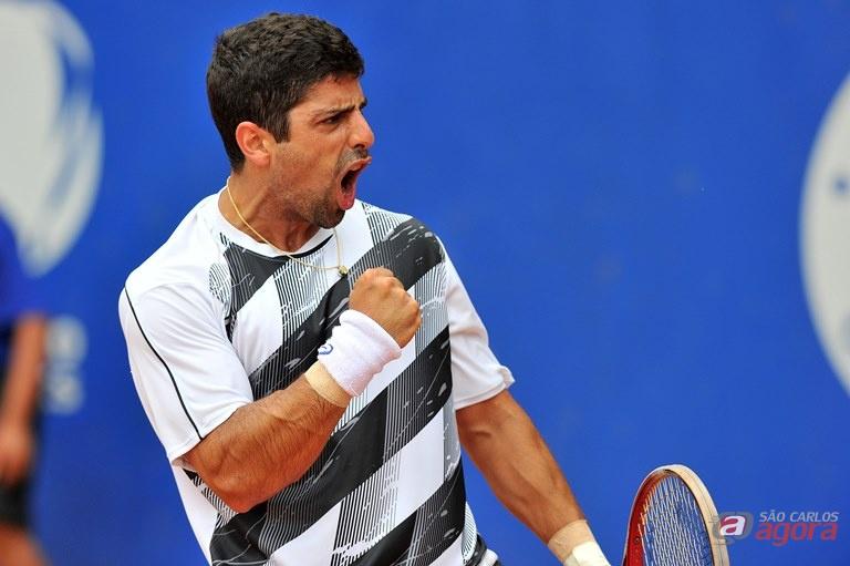 Tiago Lopes, 536º da ATP, salvou vários match points e protagonizou um emocionante duelo contra João Menezes João Pires/Foto Jump -