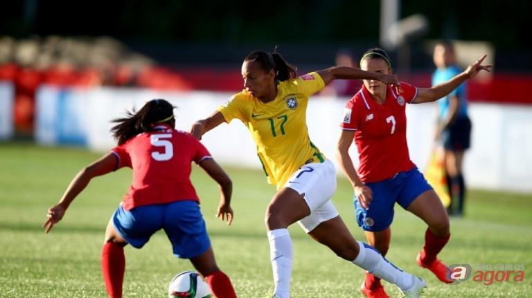 Jogo contra a Costa Rica foi marcado por um grande equilíbrio. Foto: Fifa/Getty Images -