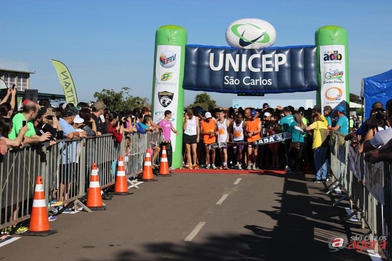 Aproximadamente 1300 participaram da competição realizada na manhã de domingo. Foto: Divulgação -
