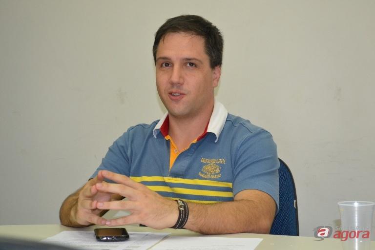 """""""O PDE é o planejamento de como, para onde a cidade vai se desenvolver"""", disse Giuliano Cardinali, presidente da AEASC Divulgação -"""