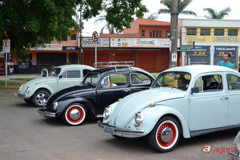 Carros antigos prometem animar a manhã de domingo em São Carlos. Foto: Divulgação -