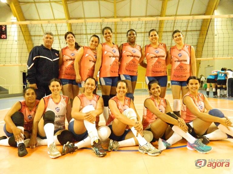 Objetivo/Castelo Plaza vai ter o São Carlos Clube pela frente na copa AVS/Smel. Foto: Divulgação -