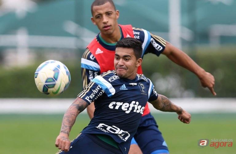 Dudu está confirmado no time titular e encara a Ponte. Foto: Cesar Greco/Agência Palmeiras/Divulgação -