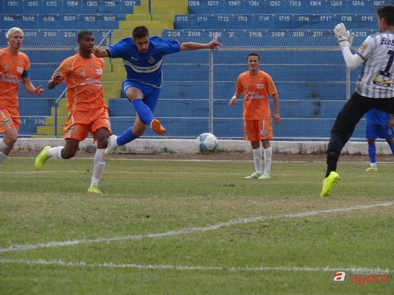 Mateus Augusto deixou novamente sua marca e fez o gol aos 20 segundos do primeiro tempo. Foto: Marcos Escrivani -