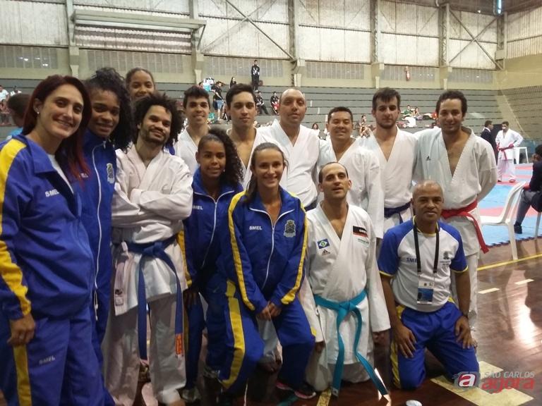 São-carlenses comemoram as conquistas nos Regionais. Fotos: Divulgação -