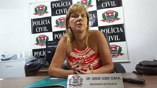 Delegada Denise Gobbi Szakal pediu a prisão temporária do pedreiro. (foto Arquivo) -