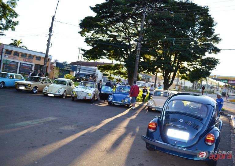 Carros do Sanca Clube durante a mostra em Guarapiranga. Foto: Divulgação -