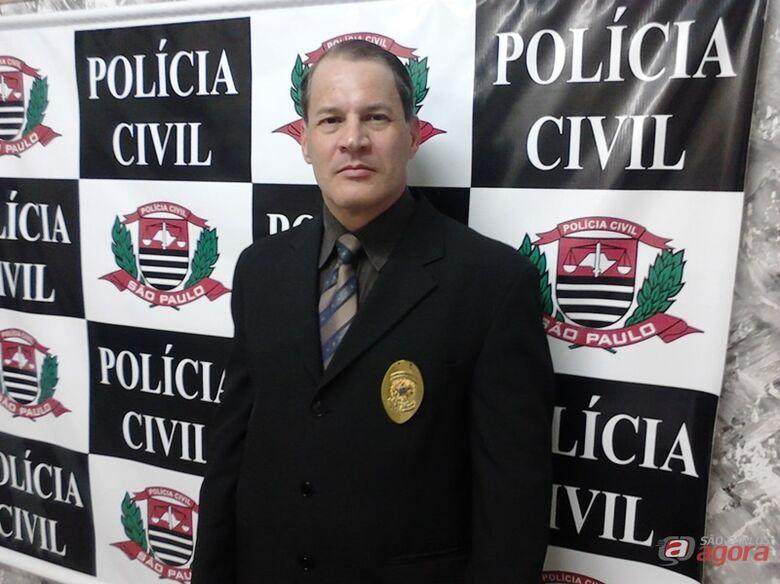 Eduardo Henrique Campos, delegado de Porto Ferreira. (Foto Osni Martins) -