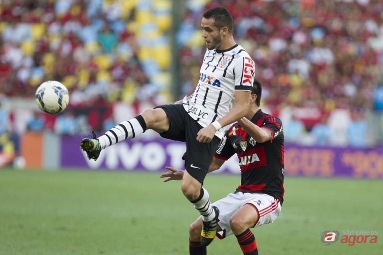Renato Augusto teve um papel fundamental na vitória corintiana. Foto: Daniel Augusto Jr./Agência Corinthians -