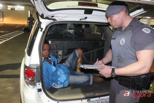 Rodrigão usava o nome do irmão que não tinha passagens pela Polícia. (foto Luciano Lopes) -