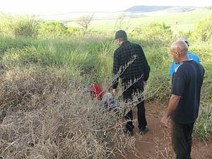 Corpo foi localizado por policiais em fazenda. (foto Divulgação. -