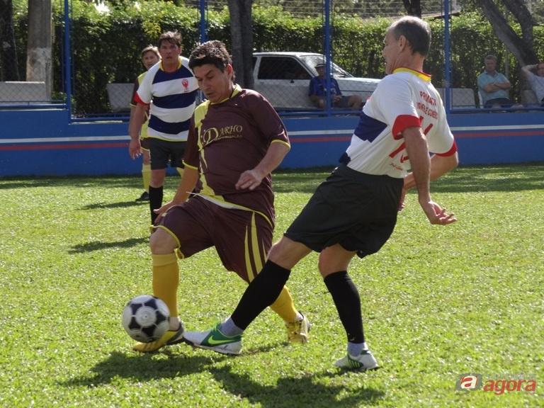 Em uma partida bem disputada, Force e Darho ficaram sem marcar gols. Foto: Marcos Escrivani -