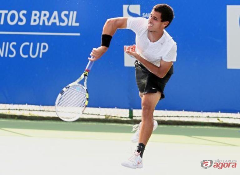Renan Espricigo não perdeu sets no qualifying. Foto: Wander Roberto -