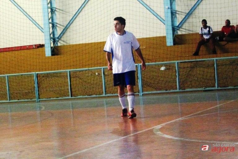 Marlon anotou o primeiro gol contra a Sara Nossa Terra. Foto: Gustavo Curvelo/Divulgação -