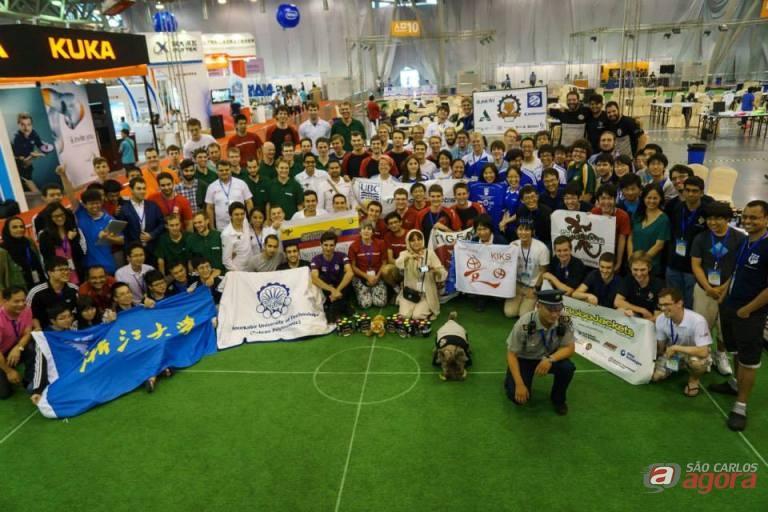 Este ano foi a quarta vez que o grupo da USP marcou presença no mundial. Foto: Divulgação -