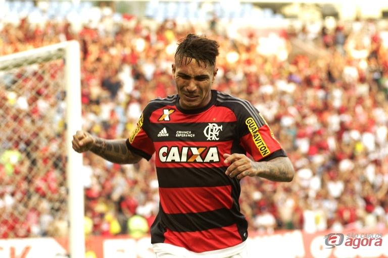 Guerreiro fez o segundo gol do Flamengo na vitória em cima do São Paulo. Foto: Gilvan de Souza/Flamengo -