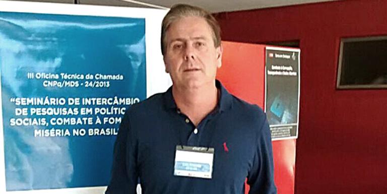 O diretor do CCN, Manoel Almeida destacou a importância da divulgação do projeto no evento. Foto: Divulgação -
