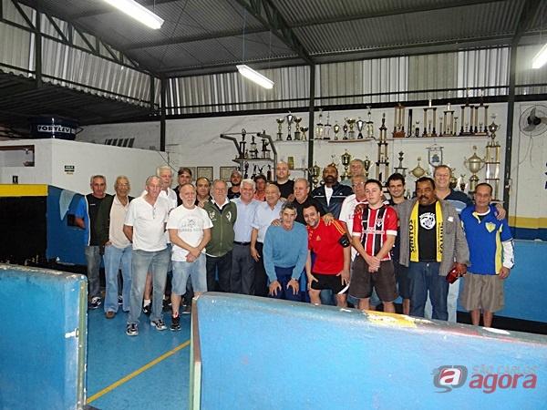 Marquinho prestigiou a abertura do campeonato em homenagem a Xavierzinho -