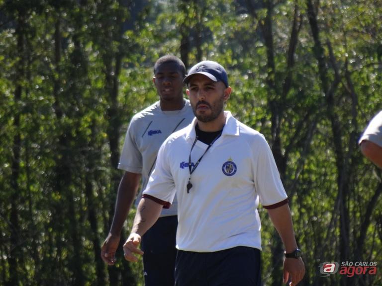 Guanaes garante que São Carlos vai estar na segunda fase da Série B. Foto: Marcos Escrivani -