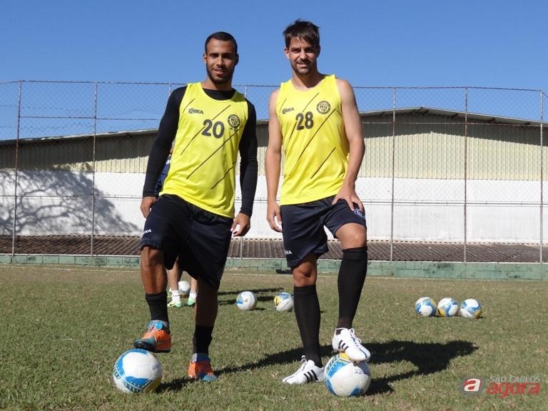 Willian Dias e Mário Augusto estão otimistas e garante que São Carlos vai superar as adversidades e garantir vaga na segunda fase. Foto: Marcos Escrivani -
