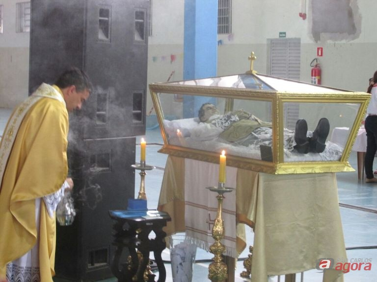 Evento contará com a exposição das Relíquias de São João Bosco num espaço dedicado a oração e contemplação Foto: Divulgação -