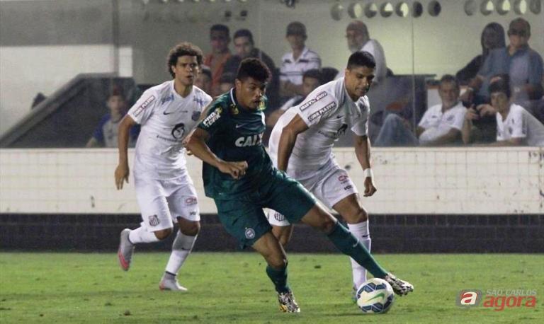 Na Vila, Santos conquistou uma expressiva vitória pelo Brasileirão. Foto: site oficial do Coritiba FC -