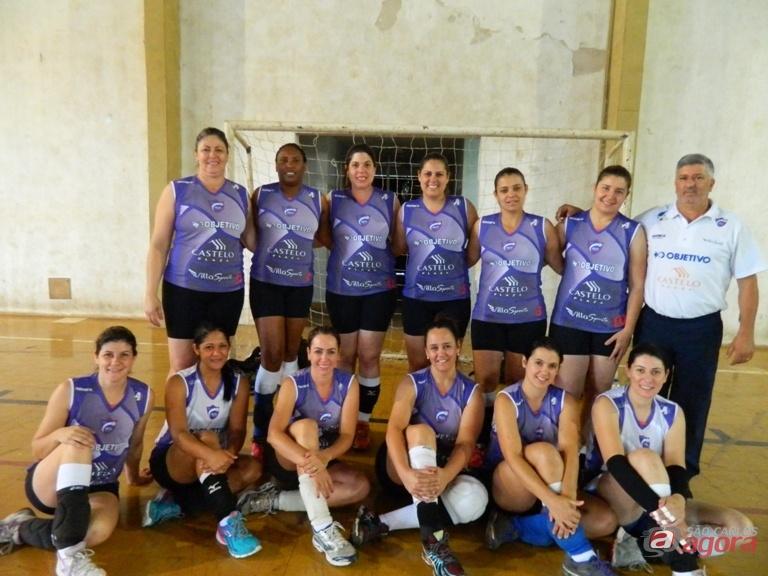 Objetivo/Castelo Plaza conquistou uma expressiva vitória na APV. Foto: Divulgação -