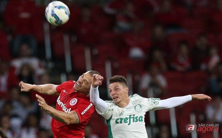 Palmeiras novamente fez um jogo ruim e colecionou mais uma derrota. Foto: Cesar Greco/Agência Palmeiras/Divulgação -