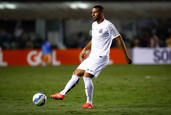 Nilson irá substituir Ricardo Oliveira diante do Internacional. Foto: Ricardo Saibun/SantosFC -
