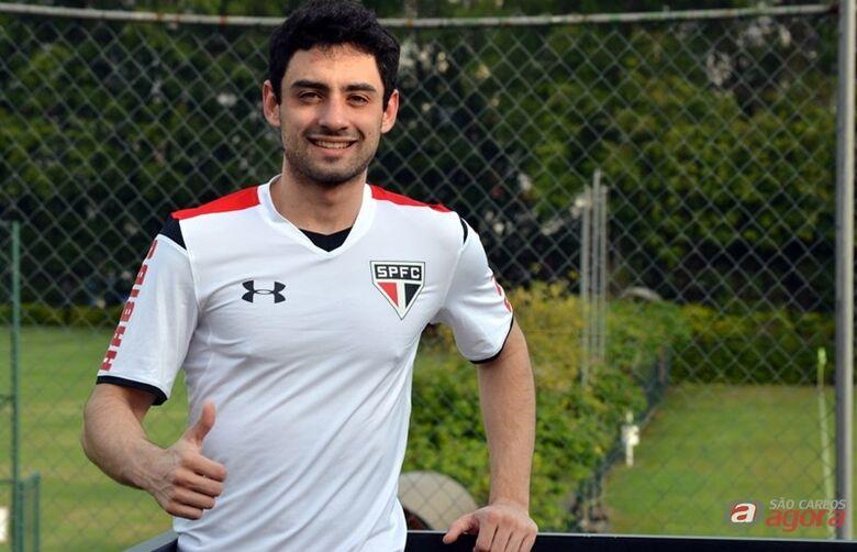 Daniel é apresentado e relacionado para enfrentar o Joinville. Foto: Site Oficial/saopaulofc.net -