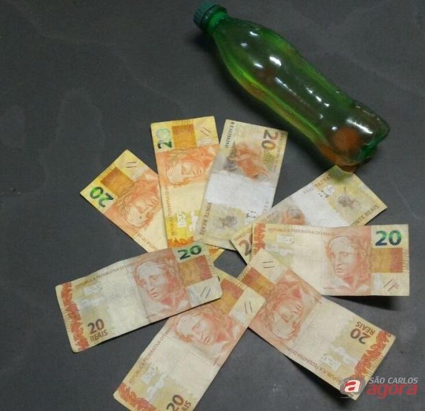 A droga foi apreendida e o acusado encaminhado ao Centro de Triagem. Foto: Osni Martins -
