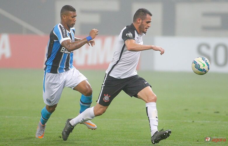 Renato Augusto marcou o gol do empate corintiano. Foto: Agência Corinthians -