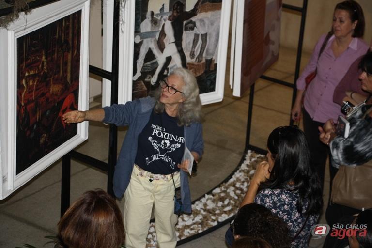 """A exposição """"Portinari – Arte e Meio Ambiente"""" está também aberta a todo o público interessado. Foto: Divulgação -"""