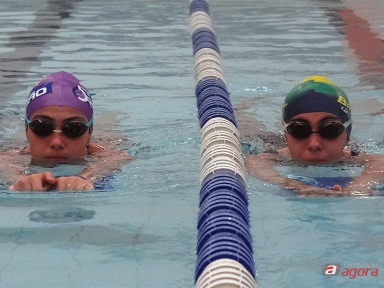 As irmãs Lara e Larissa estarão em ação na competição regional que acontece em Jaboticabal. Foto: Marcos Escrivani -