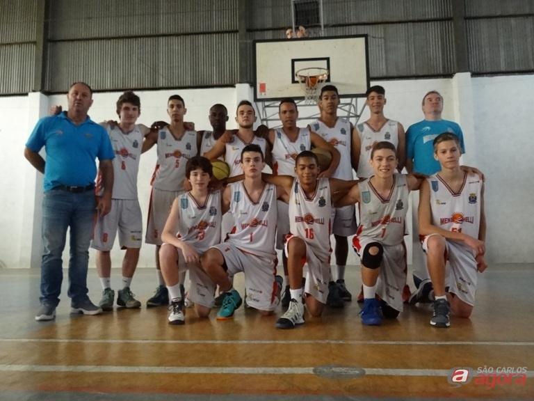Equipe sub16 quer a vitória para continuar a brigar pela liderança. Foto: Marcos Escrivani -