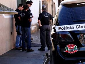 Polícia Civil realizou operação em São Carlos e região. (foto Arquivo) -