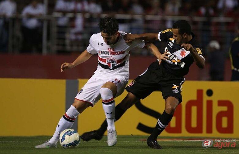Pato é a esperança de gols da equipe tricolor. Foto: Rubens Chiri/Site Oficial do São Paulo -