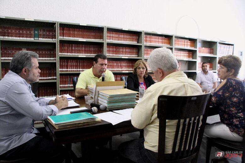 Membros da CPI da Revita ouviram depoimento de Júlio Soldado. (Assessoria de Imprensa CMSC) -