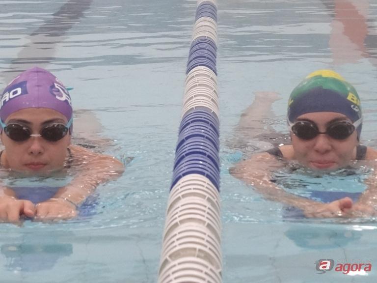 As irmãs Lara Roberta e Larissa buscam índices em prova limeirense. Foto: Marcos Escrivani -