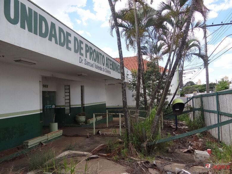 Prédio da antiga UPA da Avenida São Carlos -