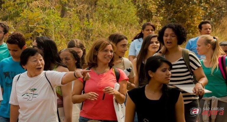 Visita ao Cerrado realizada no ano passado. Foto: Rogério Gianlorenzo -