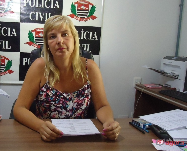 Delegada Denise, responsável por investigar o caso. -