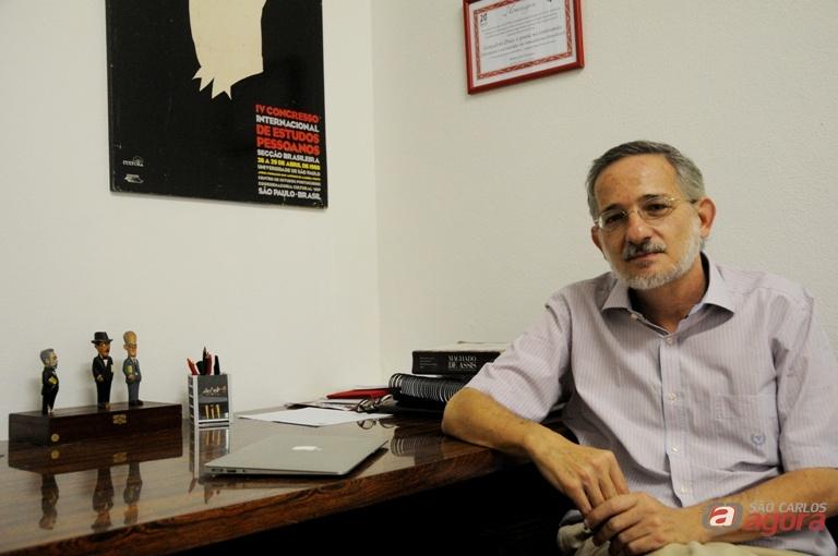 Professor Wilton José Marques, do DL da UFSCar. Foto: Mariana Ignatios -