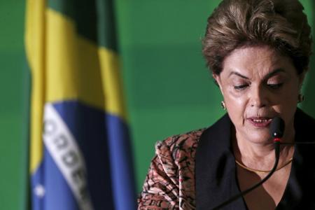 Presidente Dilma Rousseff em entrevista coletiva no Palácio do Planalto, em Brasília. Reuters/Ueslei Marcelino -