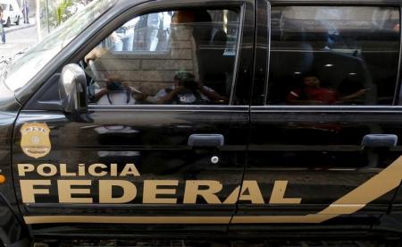 Carro da Polícia Federal visto no Rio de Janeiro. Foto: Sergio Moraes -