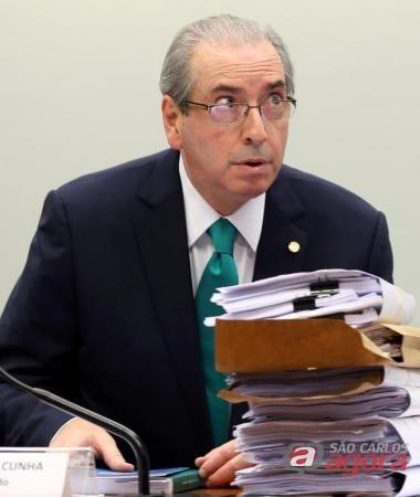 Presidente afastado da Câmara dos Deputados, Eduardo Cunha, faz sua defesa no Conselho de Ética, em Brasília. Foto: Reuters/Adriano Machado -